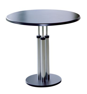 Bistro-Tisch - Tischplatte aus Werzalit, Ø 800 mm Höhe 750 mm