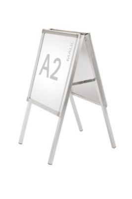 Kundenstopper, doppelseitig - Aluminium, für DIN A2