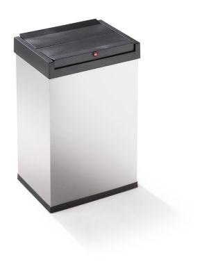 Schwingdeckel-Abfallbox - HxBxT 500 x 340 x 260 mm, 40 l, Behälter