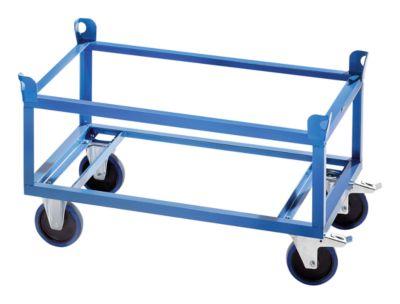 Fahrgestell Stahlrahmen - Tragfähigkeit 500 kg, Ladehöhe 650