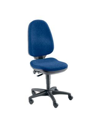 Bandscheibendrehstuhl - ohne Armlehnen Bezug dunkelblau