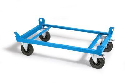 Fahrgestell Stahlrahmen - Tragfähigkeit 500 kg, Ladehöhe 280