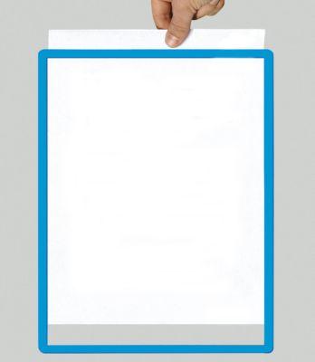 Rahmen mit Klarsichtfolie - Papierformat A5, VE 10 Stk, blau