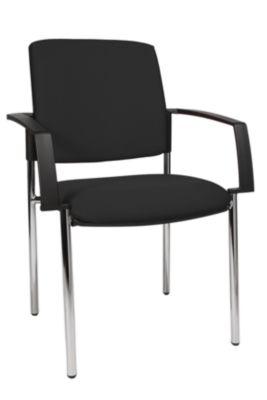 Polster-Stapelstuhl, VE 2 Stk - Vierfußgestell Gestell