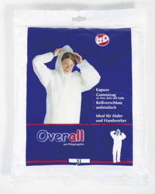 PP-Overall, weiß, Größe XL -
