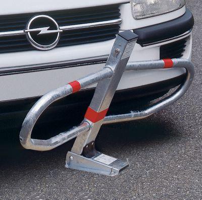 Parkbügel, flexibel - Zylinderschloss verschiedenschließend ab 1 Stück