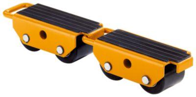 Transportroller mit Nylonrollen - verbindbar, VE 2 Stk,