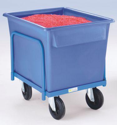 Kastenwagen für Kunststoffwanne - Tragfähigkeit 250 kg für