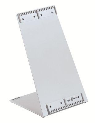 Tischständer, kunststoffbeschichtet - in L-Form leer, für 20