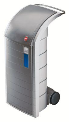 Wertstoff-Sammelbehälter, Volumen ca. 120 l - große Einwurfklappe und