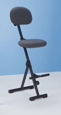 Stehhilfe - Höhenverstellbereich von 550 – 900 mm, mit Fußstütze