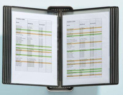 , VEO Sichttafelsystem VEO für Format DIN A4 - Wandsystem