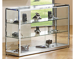 vitrine glasvitrine und vitrinenschrank g nstig kaufen certeo. Black Bedroom Furniture Sets. Home Design Ideas