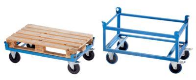 Fahrgestell Stahlrahmen - Tragfähigkeit 1000 kg Ladefläche