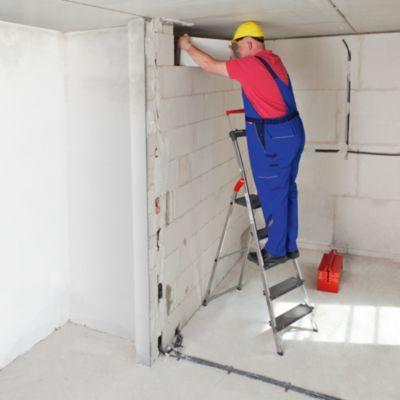 Schwerlast-Sicherheitsleiter - belastbar bis 225 kg, 4 Stufen inkl