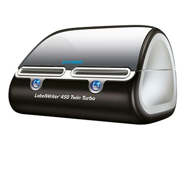 DYMO Etikettendrucker LabelWriter 450 Twin Turbo S0838870 schwarz -