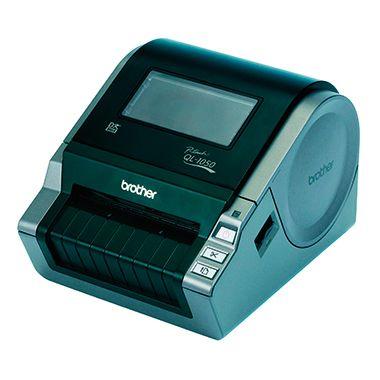 Etikettendrucker QL1050G1 17x22x14,8cm schwarz/grau - 8cm