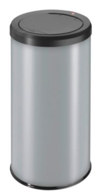 silber - Inhalt 45 l, mit Müllklemmring, silber