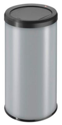 Abfallsammler, Swingdeckel - Inhalt 45 l, silber