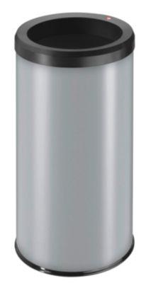 Abfallsammler, Einwurfloch - Inhalt 45 l, silber