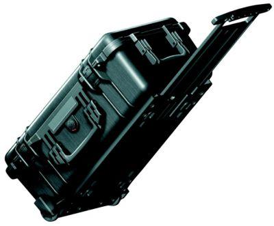 PELI Hartschalenkoffer - Inhalt 28,6 l, mit Rollen und Handgriff,