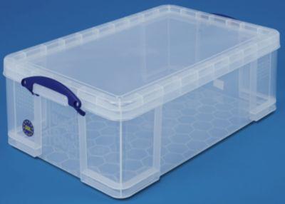 REALLY USEFUL BOX, inkl. Deckel - transparent, LxBxH 710 x 440 x 230