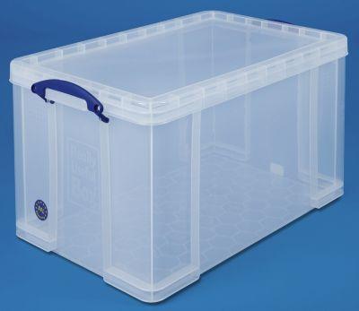 REALLY USEFUL BOX, inkl. Deckel - transparent, LxBxH 710 x 440 x 380