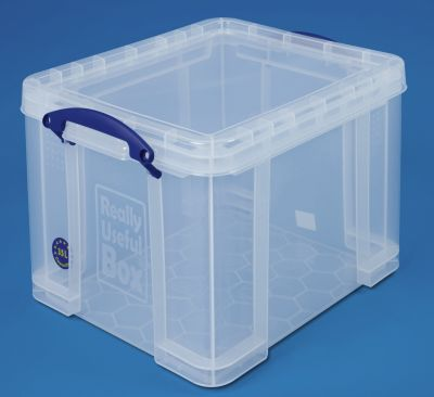 REALLY USEFUL BOX, inkl. Deckel - transparent, LxBxH 480 x 390 x 310