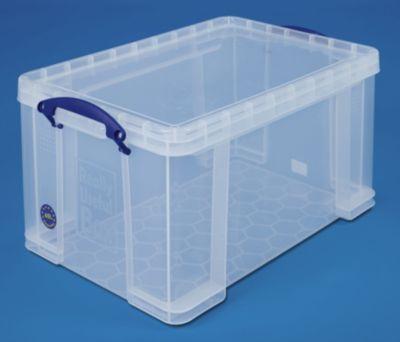 REALLY USEFUL BOX, inkl. Deckel - transparent, LxBxH 610 x 402 x 315