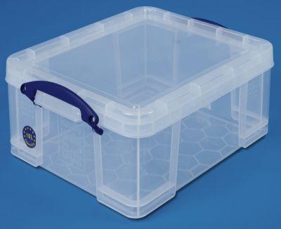 REALLY USEFUL BOX, inkl. Deckel - transparent, LxBxH 480 x 390 x 200