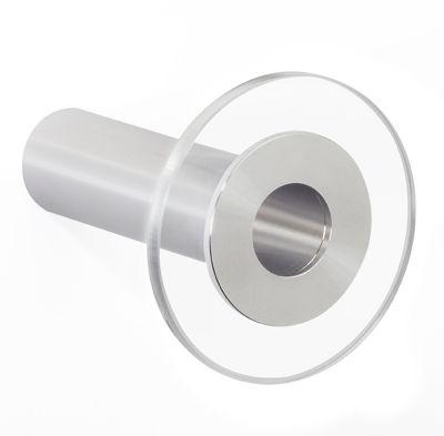 Design-Garderobenhaken POINT - Hakenlänge 100 mm, transparent