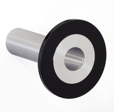 Design-Garderobenhaken POINT - Hakenlänge 100 mm, schwarz