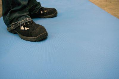 Bodenbelag, Breite 1200 mm - blau pro lfd. m