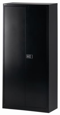UNIVERSAL Flügeltürenschrank - Garderobeneinsatz schwarz