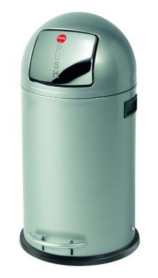 Großraum-Abfallbox KICKMAXX - Volumen 35 l silber