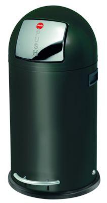 Großraum-Abfallbox KICKMAXX - Volumen 35 l schwarz