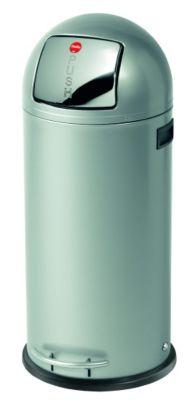 Großraum-Abfallbox KICKMAXX - Volumen 50 l silber