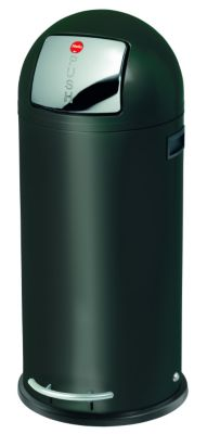 Großraum-Abfallbox KICKMAXX - Volumen 50 l schwarz