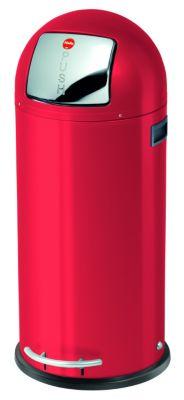 Großraum-Abfallbox KICKMAXX - Volumen 50 l rot