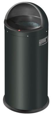 Großraum-Abfallbox QUICK - Volumen 50 l schwarz