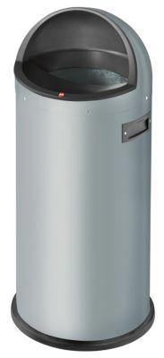 Großraum-Abfallbox QUICK - Volumen 50 l silber