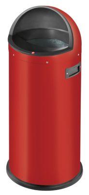 Großraum-Abfallbox QUICK - Volumen 50 l rot