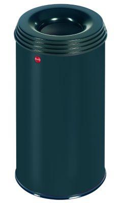 Papierkorb PROFILINE SAFE, flammenlöschend - Volumen 20 l schwarz