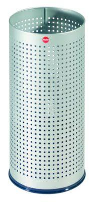 Schirmständer PROFILINE BASKET - mit Abtropfschale Lochblech silber