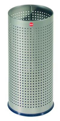 Schirmständer PROFILINE BASKET - mit Abtropfschale Lochblech platin