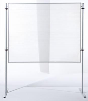Funktions-Trennwand - HxB 1500 x 1200 mm Polycarbonat-Stegplatte, VE 2
