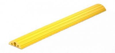 Schlauch- und Kabelbrücke - für Kabel bis 45 mm Ø, gelb LxBxH 1500 x