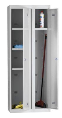– Stahlspind, zerlegt - 6 Abteile, Gesamtbreite 700 mm lichtgrau