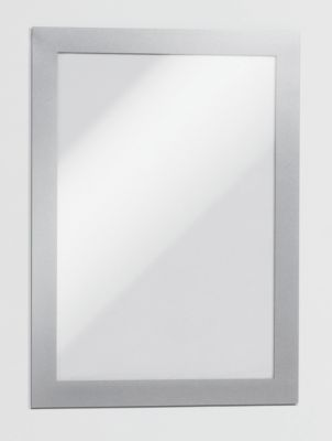 Magnetrahmen - selbstklebend für DIN A5, Rahmen silber, VE 10