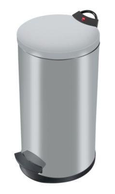Treteimer, flammverlöschend - Volumen 20 Liter silber RAL 9022